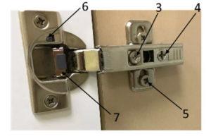 Как регулировать петли с доводчиком. Инструкция.