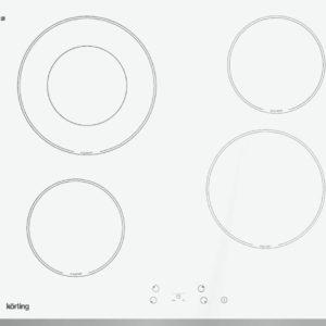 Электрическая варочная панель HK 62001 BW